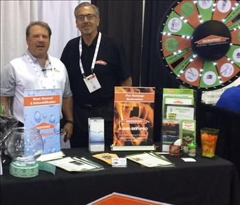SERVPRO at Shopping Center Expo