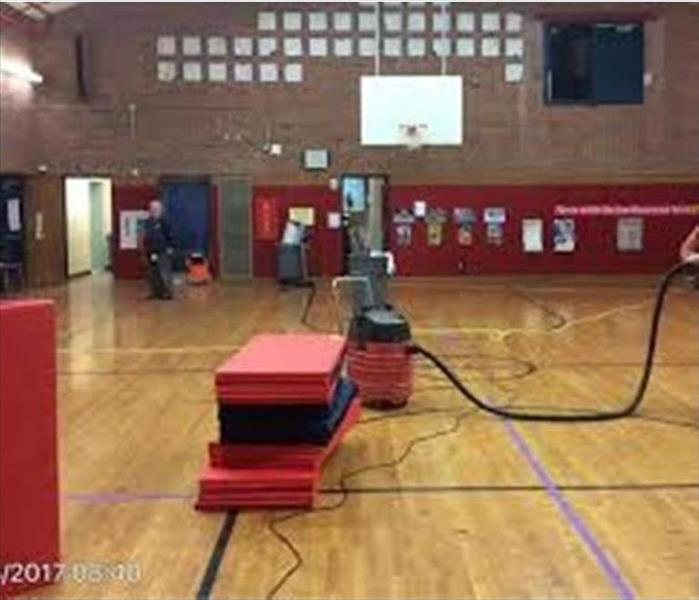 Local High School Gym Sprinklers Flood Controlled Quickly